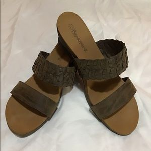 Bearpaw Wedge Sandals